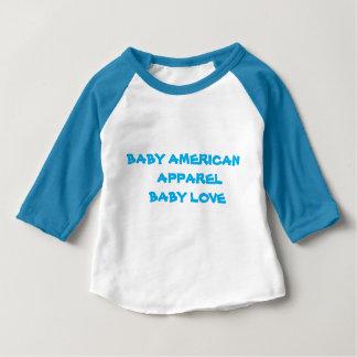 T-shirt Pour Bébé Habillement d'Américain de bébé