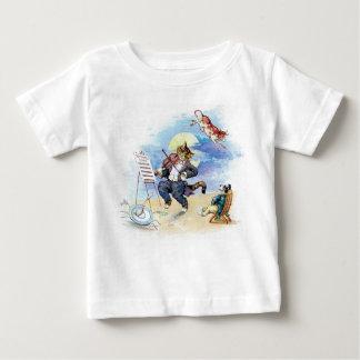 T-shirt Pour Bébé Hé, dupez dupent la comptine