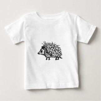 T-shirt Pour Bébé Hérisson