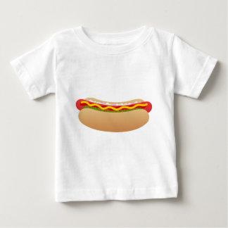 T-shirt Pour Bébé Hot-dog