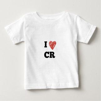 T-shirt Pour Bébé I CR de coeur - Cedar Rapids Iowa