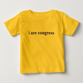 T-shirt Pour Bébé i sont le congrès