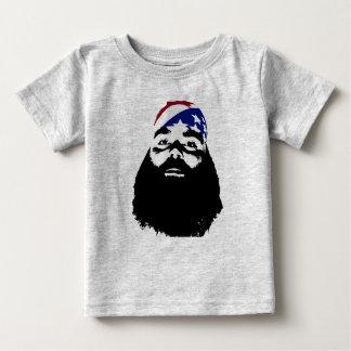 T-shirt Pour Bébé Il a eu une pleine barbe naturelle