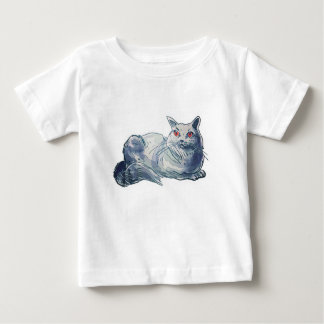 T-shirt Pour Bébé illustration britannique de style de bande