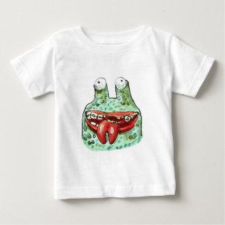 T-shirt Pour Bébé illustration drôle de style étranger stupide de
