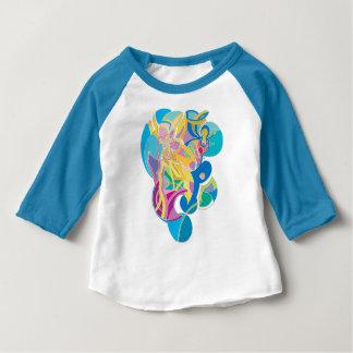 T-shirt Pour Bébé Illustration lunatique