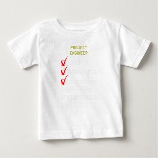 T-shirt Pour Bébé ingénieur de projet
