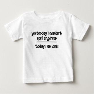 T-shirt Pour Bébé ingénieur drôle