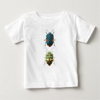 T-shirt Pour Bébé Insect colored
