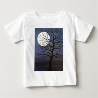 T-shirt Pour Bébé J'ai touché la lune