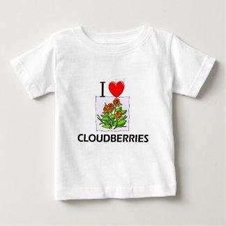 T-shirt Pour Bébé J'aime des faux mûriers