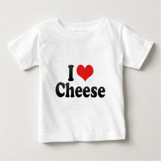 T-shirt Pour Bébé J'aime le fromage