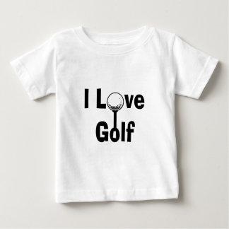T-shirt Pour Bébé J'aime le golf