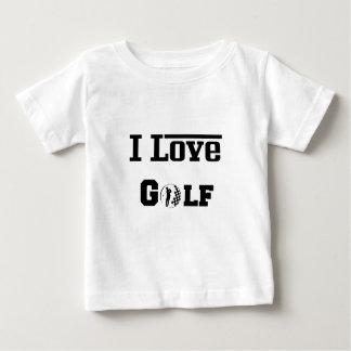 T-shirt Pour Bébé J'aime le golf 2