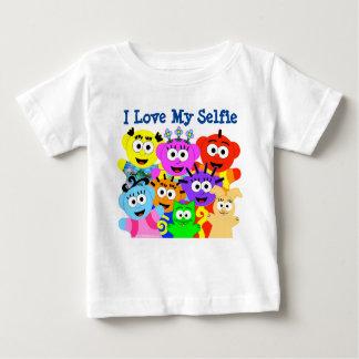 T-shirt Pour Bébé J'aime mon Selfie- PeekABooCrew.com