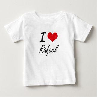 T-shirt Pour Bébé J'aime Rafaël