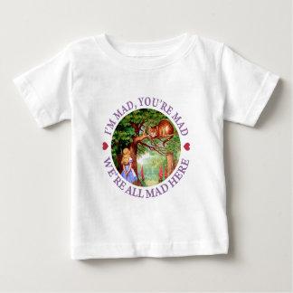 T-shirt Pour Bébé Je suis fou, vous suis fou, nous suis tous fou ici
