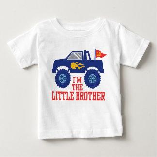 T-shirt Pour Bébé Je suis le camion de monstre de petit frère