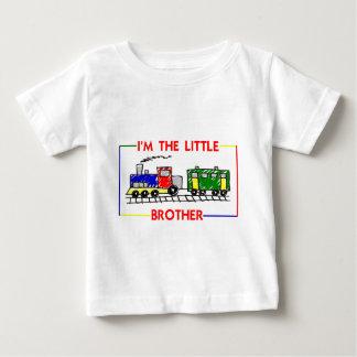 T-shirt Pour Bébé Je suis le petit frère (le train)