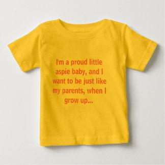 T-shirt Pour Bébé Je suis un petit bébé fier d'aspie