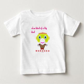 T-shirt Pour Bébé Je suis un peu un grand Singe-Morocko