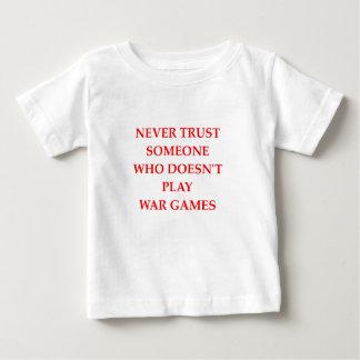 T-shirt Pour Bébé jeux de guerre