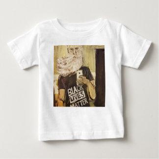 T-shirt Pour Bébé John Brown Selfie/matière noire des vies
