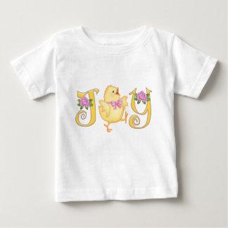 T-shirt Pour Bébé JOIE - poussin - jaune