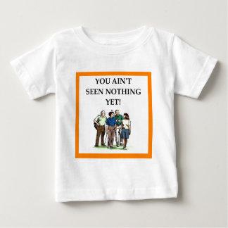 T-shirt Pour Bébé jouer au golf