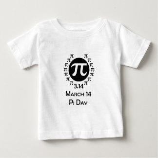 T-shirt Pour Bébé jour de pi