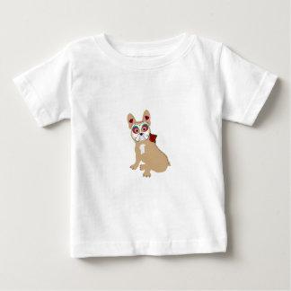 T-shirt Pour Bébé Jour du Frenchie crème mort