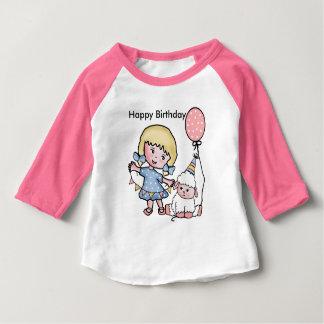 T-shirt Pour Bébé Joyeux anniversaire