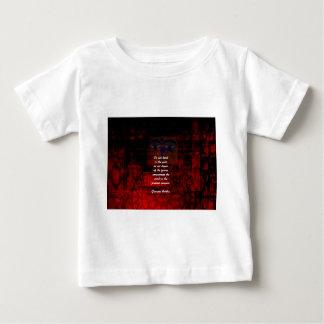 T-shirt Pour Bébé La citation élevante de Bouddha ne demeurent pas