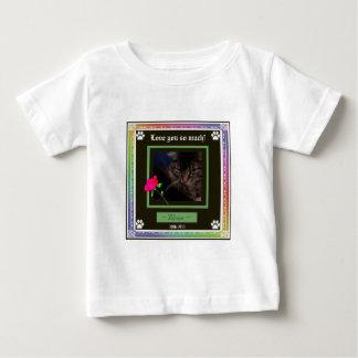 T-shirt Pour Bébé La couleur/arc-en-ciel de sélection d'U a
