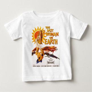 T-shirt Pour Bébé La dernière femme sur terre