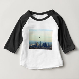 T-shirt Pour Bébé LA et hélicoptère