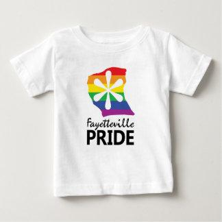 T-shirt Pour Bébé La fierté de Fayetteville badine la pièce en t