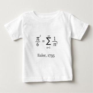 T-shirt Pour Bébé La formule d'Euler pour pi