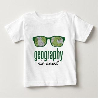 T-shirt Pour Bébé La géographie est fraîche