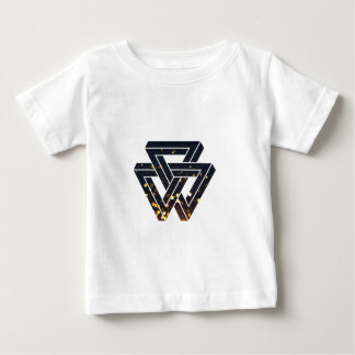 T-shirt Pour Bébé La géométrie solaire impossible 1