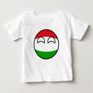 T-shirt Pour Bébé La Hongrie Geeky tendante drôle Countryball