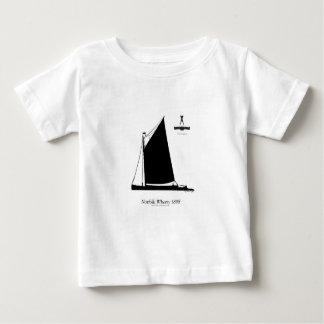 T-shirt Pour Bébé La Norfolk 1898 Wherry - fernandes élégants