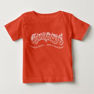 T-shirt Pour Bébé La rapide soutient dans la chemise de bébé de