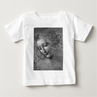 T-shirt Pour Bébé La Scapigliata par Leonardo da Vinci