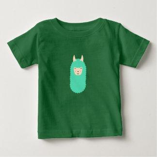 T-shirt Pour Bébé Lama heureux