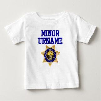 T-shirt Pour Bébé L'amusement a personnalisé l'ensemble militaire de