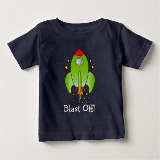 T-shirt Pour Bébé Le bateau de Rocket soufflent