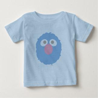 T-shirt Pour Bébé Le bébé Grover font face
