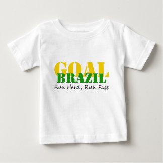 T-shirt Pour Bébé Le Brésil - courez la course dure rapide