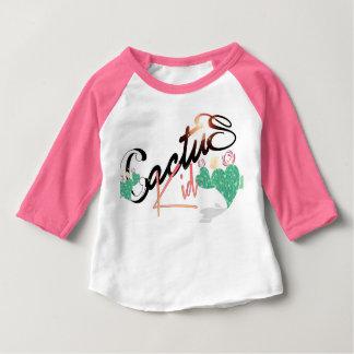 T-shirt Pour Bébé Le cactus badine la chemise de base-ball par,